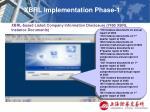 xbrl implementation phase 118