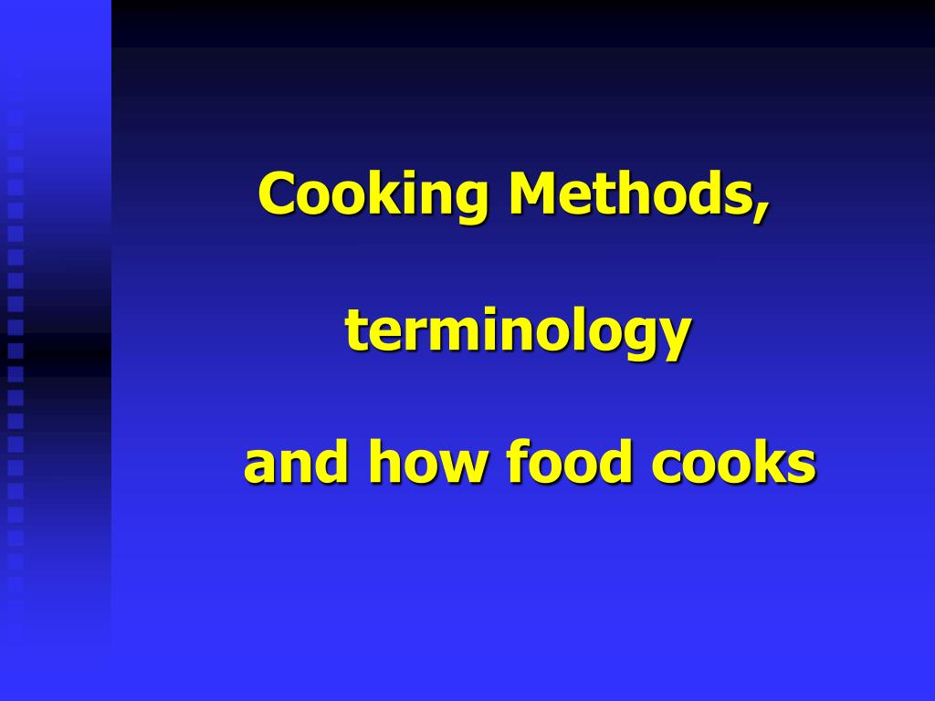 cooking methods l.