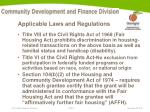 applicable laws and regulations6