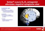solian a pure d 2 d 3 antagonist alleviates negative symptoms also