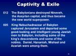 captivity exile35