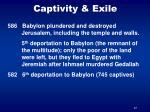 captivity exile37