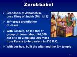 zerubbabel