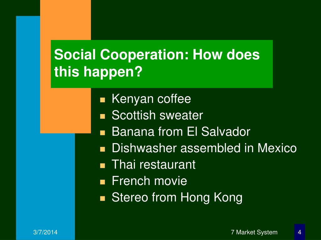 Social Cooperation: How does this happen?