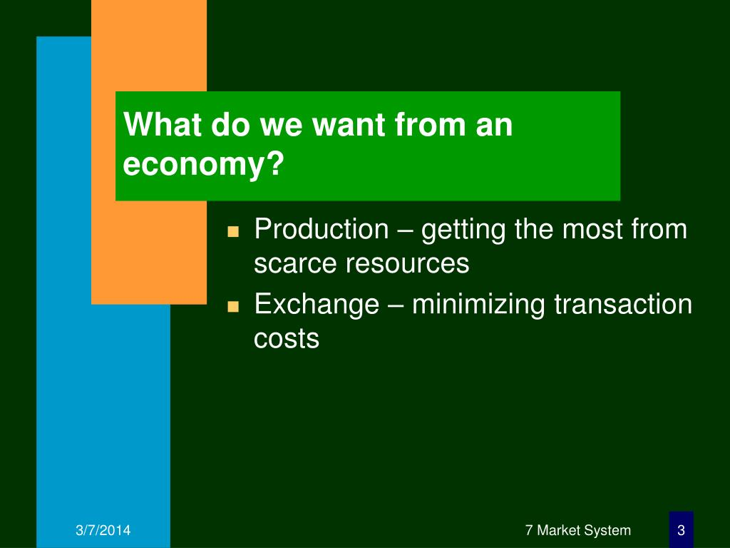 What do we want from an economy?