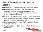 global terabit research network gtrn