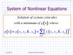system of nonlinear equations3