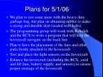 plans for 5 1 06