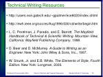 technical writing resources