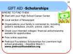 gift aid scholarships22