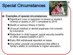 special circumstances31