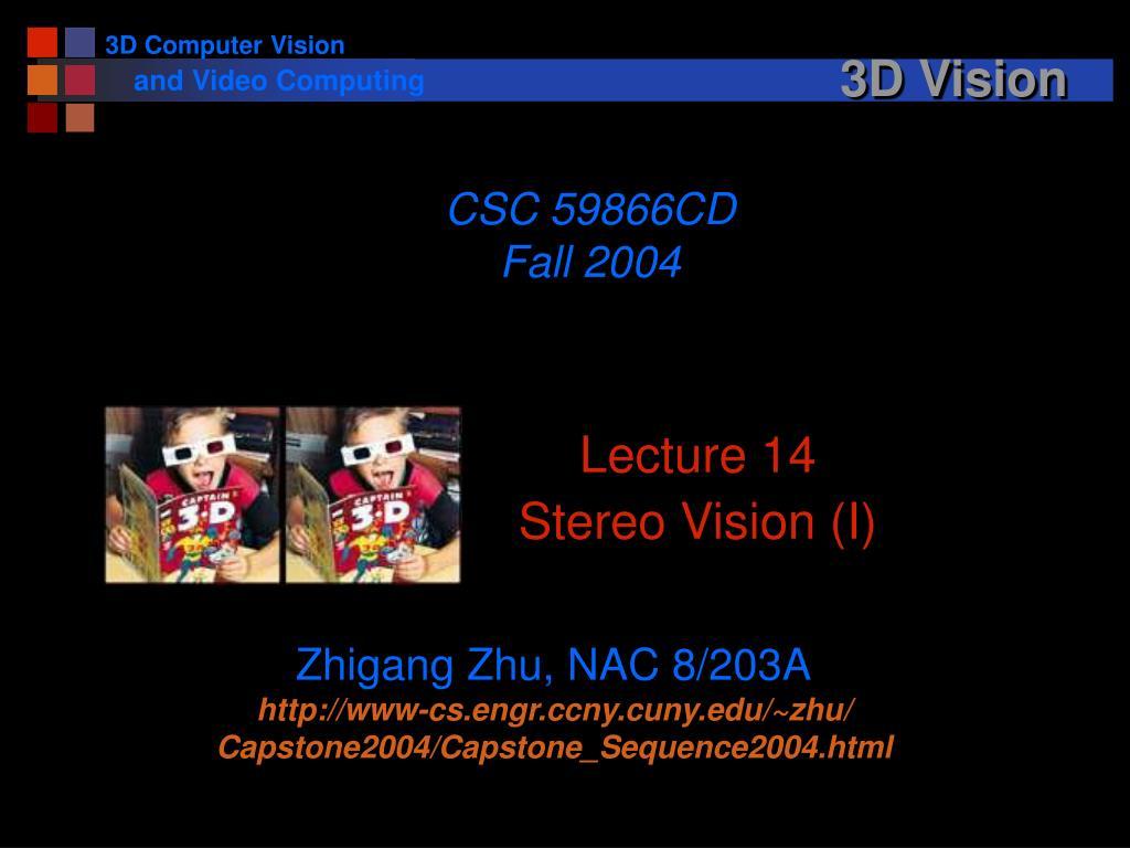 3d vision l.