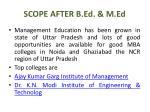 scope after b ed m ed