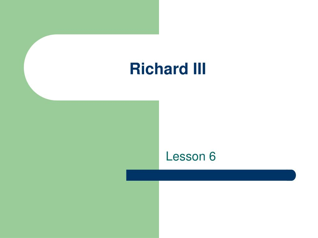 richard iii l.