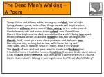 the dead man s walking a poem18