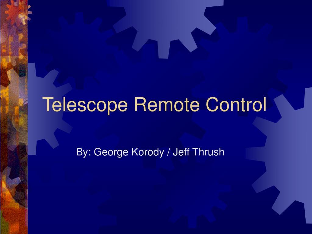 telescope remote control l.