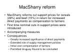 macsharry reform