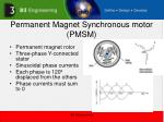 permanent magnet synchronous motor pmsm