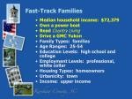 fast track families