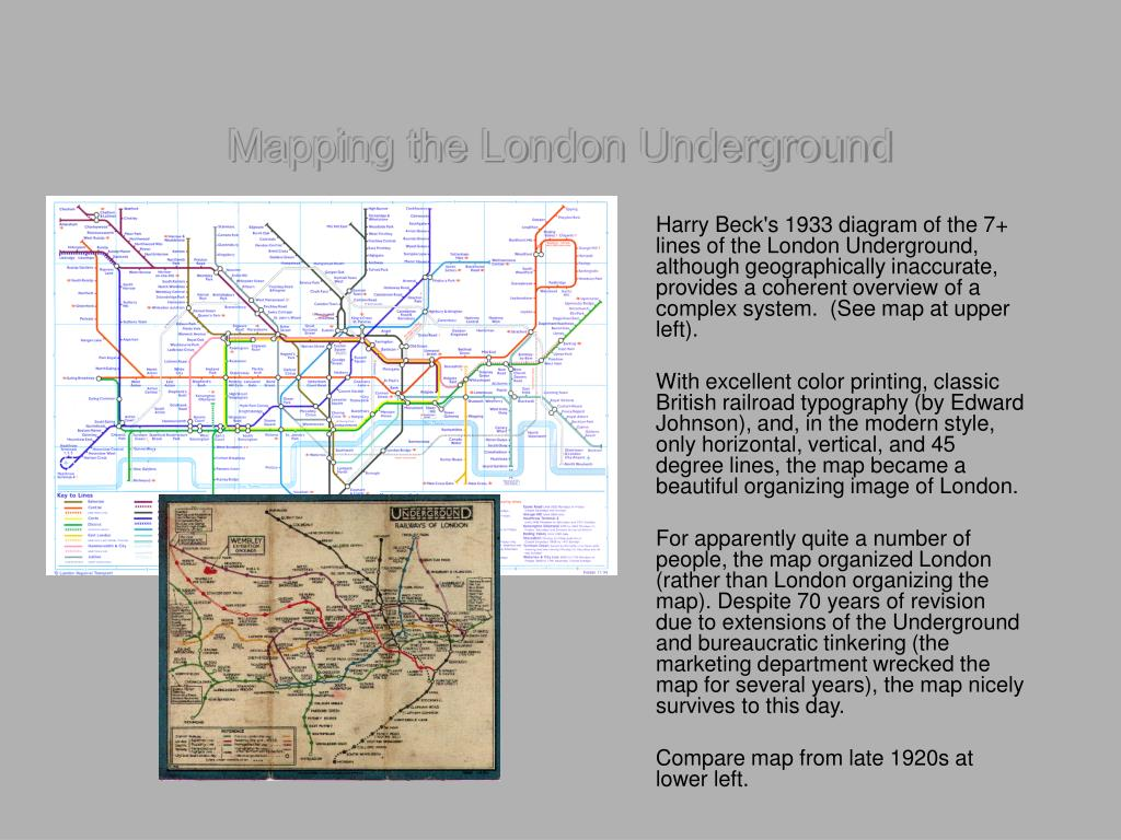 Mapping the London Underground