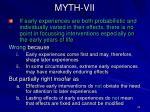 myth vii