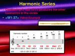 harmonic series23