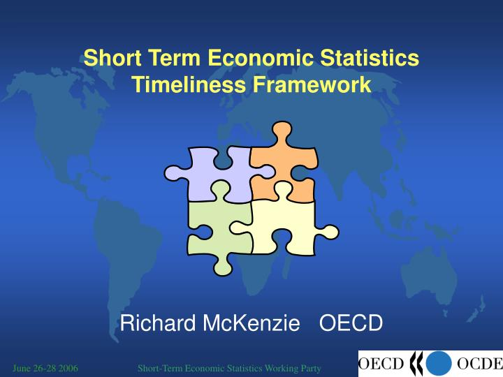 short term economic statistics timeliness framework n.