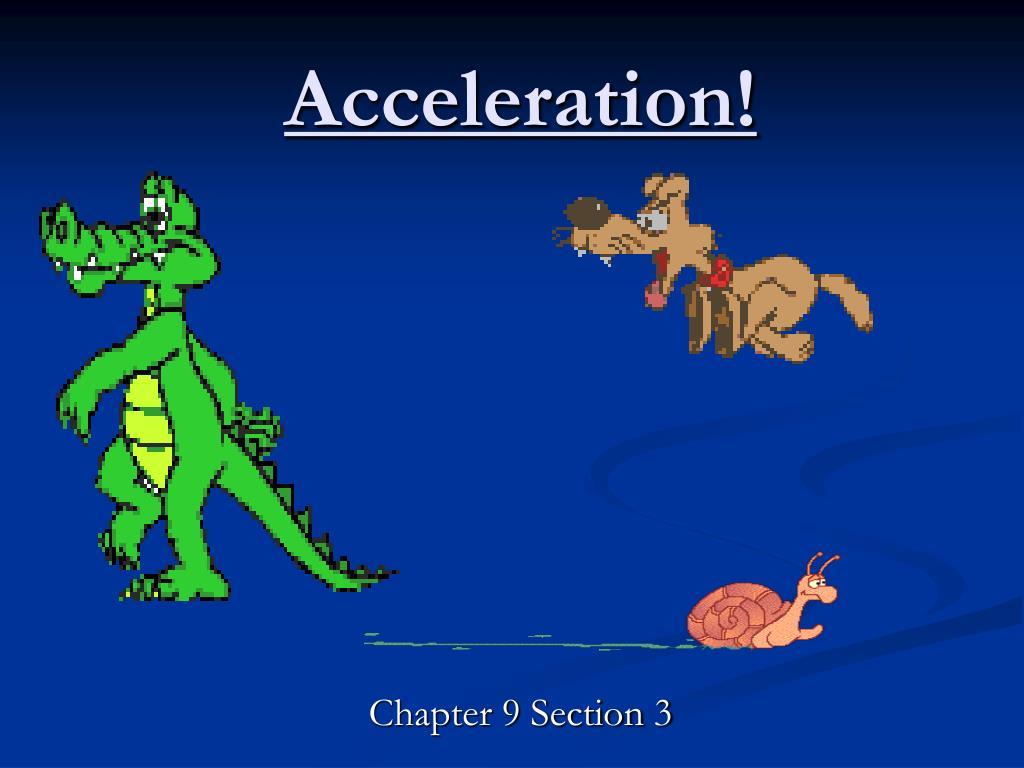 acceleration l.