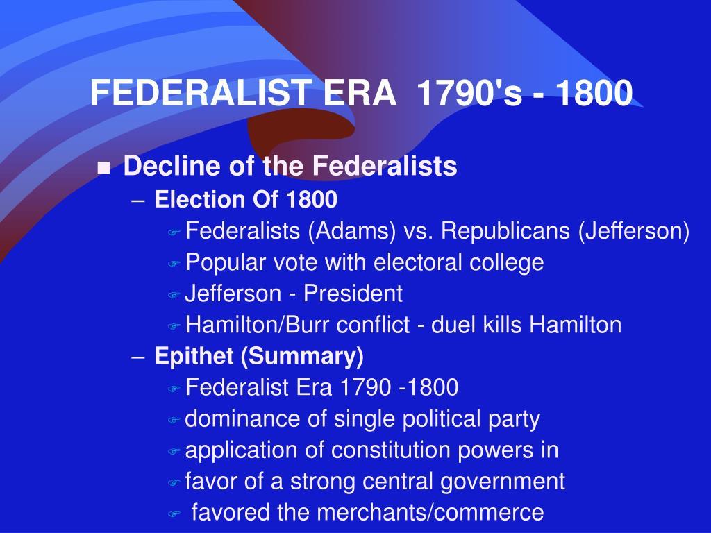 jeffersonian republicans summary