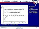 a 2 global impact ahmed et al