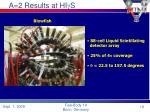 a 2 results at hi g s19