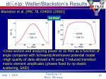 d g n p weller blackston s results
