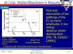 d g n p weller blackston s results21