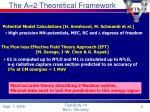 the a 2 theoretical framework