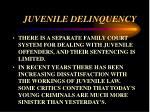 juvenile delinquency43