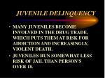 juvenile delinquency44