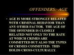 offenders age