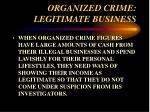 organized crime legitimate business36