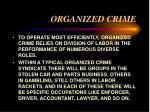 organized crime22