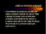 organized crime23
