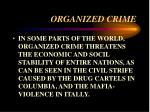 organized crime26
