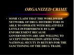 organized crime27