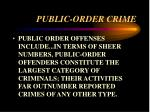 public order crime16