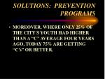 solutions prevention programs63