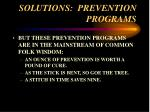 solutions prevention programs66