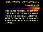 solutions prevention programs67
