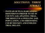 solutions three strikes56