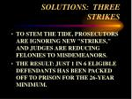 solutions three strikes57