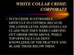 white collar crime corporate13