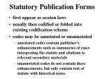 statutory publication forms